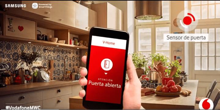 Vodafone One añade V-Home, el sistema de hogar inteligente