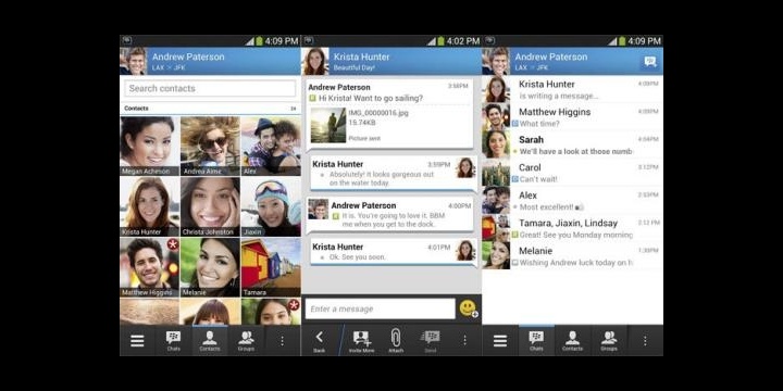 Descarga ya BlackBerry Messenger para Android