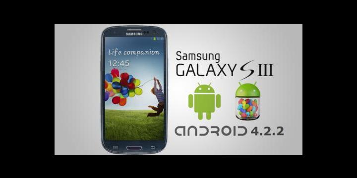 Filtrado Android 4.2.2 para el Samsung Galaxy S III