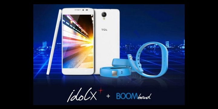 TCL anuncia el Alcatel One Touch Idol X+ con pulsera bluetooth