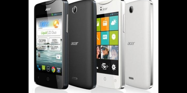 Acer lanza los smartphones Liquid Z3, Liquid E2, Liquid S1 y Liquid S2 en España