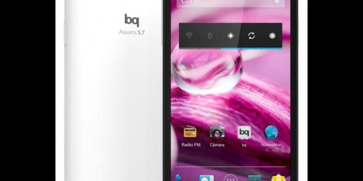 bq Aquaris 5.7, el nuevo smartphone de la marca española