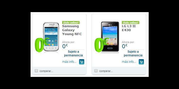 Movistar recupera la subvención de móviles