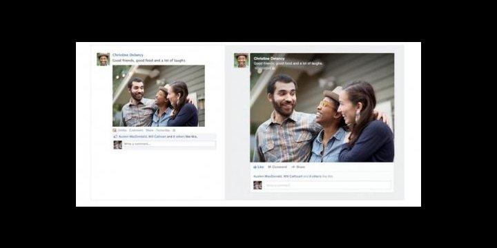 Facebook presenta el nuevo diseño