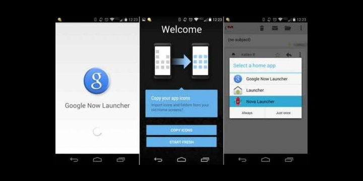 Google Now Launcher estaría disponible para todos