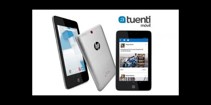 Tuenti Móvil ofrece el tablet HP Slate 7 HD 3G con conexión 3G durante un año