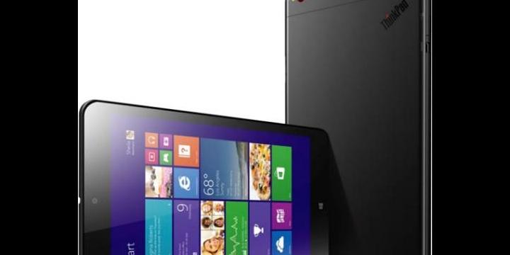Lenovo Thinkpad 8, tablet de 8 pulgadas con Windows 8