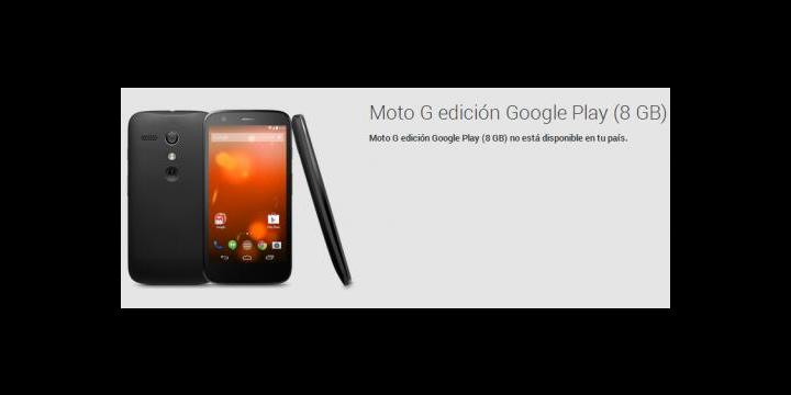 Motorola Moto G Google Play Edition ya es oficial