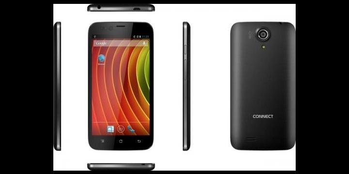CONNECT Q50 Parkour, el primer smartphone con tapa trasera táctil