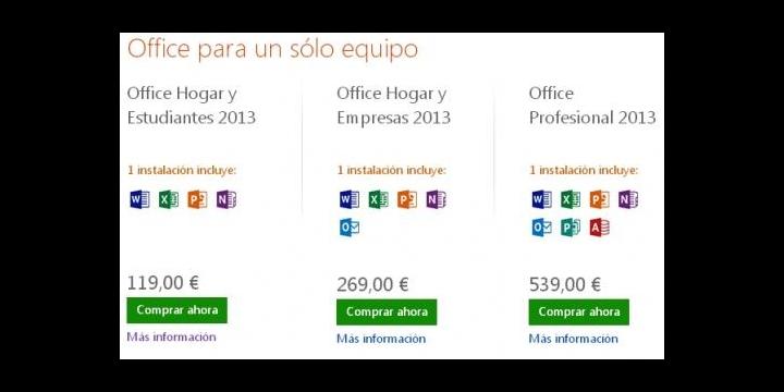 Office 2013 ya disponible