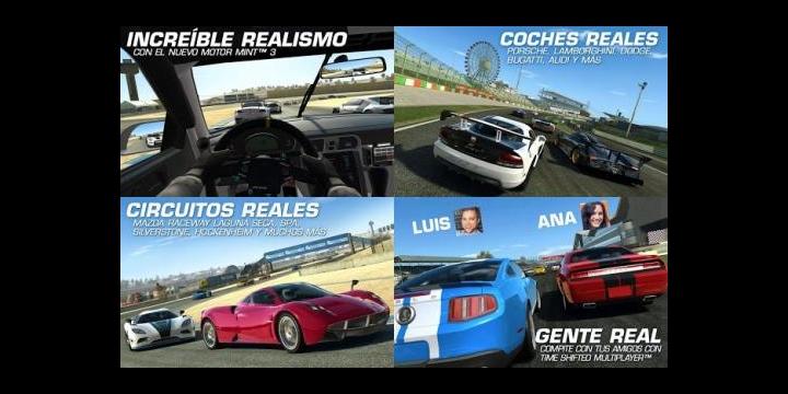 Real Racing 3 ya disponible para iOS y Android gratis