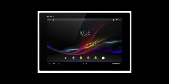 Sony presenta el tablet de gama alta Xperia Tablet Z
