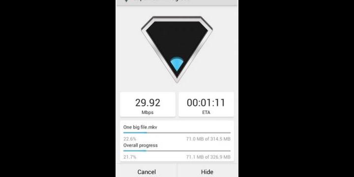 SuperBeam, comparte archivos en Android gracias al NFC y WiFi
