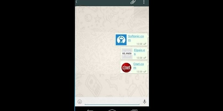 WhatsApp no muestra publicidad, solo son previsualizaciones