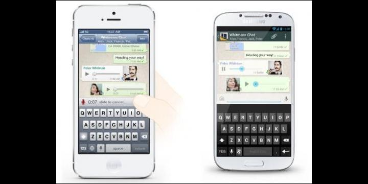 WhatsApp simplifica los mensajes de voz