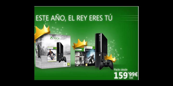 Xbox 360 en oferta hasta el 7 de enero
