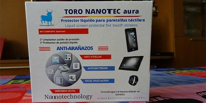 61d631ff915 Review: Toro Nanotec aura, un protector de pantalla líquido