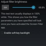 Reduce el brillo del móvil a más de lo que permite