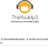 TheYouMp3, convierte vídeos de YouTube a mp3 online y gratis