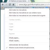 Quitar botón Aplicaciones en Chrome