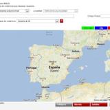 Mapa de la cobertura 4G de Vodafone