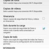 Cómo hacer copia de seguridad de las fotos en Android