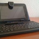 """Review: Funda de cuero con teclado español para tablet de 7"""""""
