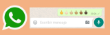 WhatsApp ya permite poner la peineta o corte de manga