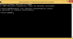 Activar F8 durante el arranque de Windows