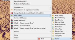 Cambiar el color de las carpetas de Windows con Folder Maker