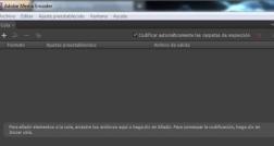 Cómo cambiar el formato de vídeo con Adobe Media Encoder