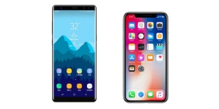 iPhone X vs Galaxy Note 8: ¿Cuáles son las diferencias?