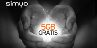 Simyo regala 5GB a sus clientes por Navidad
