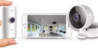 D-Link 8000LH y 8100LH, minicámaras con Wi-Fi para vigilar desde el móvil