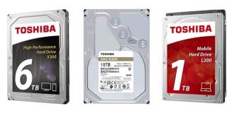 Toshiba lanza nuevos discos duros N300, X300 y L200 con mayor capacidad
