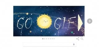 Google lanza un Doodle por la lluvia de estrellas de las Gemínidas