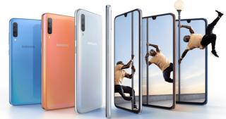 Samsung Galaxy A70 llega con pantalla de 6,7 pulgadas y triple cámara trasera