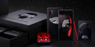Samsung Galaxy Note 10+ Star Wars, una edición especial con un diseño en negro y rojo
