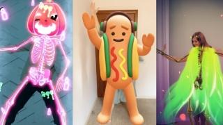 Los nuevos filtros 3D de Snapchat te permiten disfrazarte para Halloween solo con el móvil