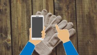 7 guantes táctiles para usar con el móvil