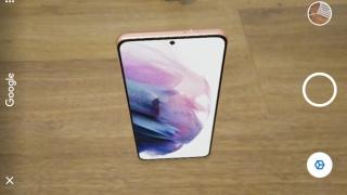 Google permite ver el Samsung Galaxy S21 en 3D AR