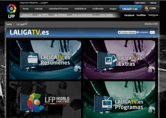Cómo ver y seguir la liga de fútbol con La Liga TV