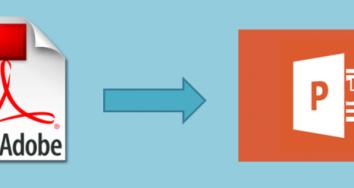 Cómo pasar de PDF a PowerPoint