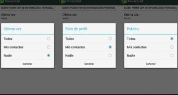 WhatsApp ya no oculta la hora de la última conexión