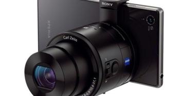 QX1 y QX30: cómo convertir un smartphone Sony en una gran cámara