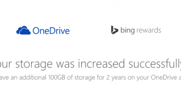 Cómo conseguir 100Gb gratis en OneDrive desde España
