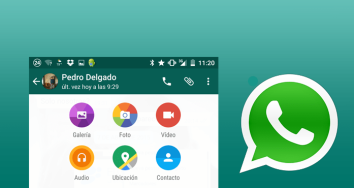 Descarga WhatsApp actualizado con aspecto Material Design