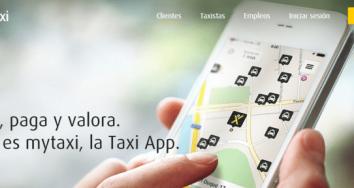 Consigue un 50% de descuento en taxis gracias a mytaxi