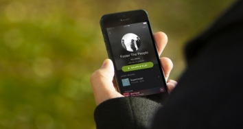 Spotify sufre una caída parcial