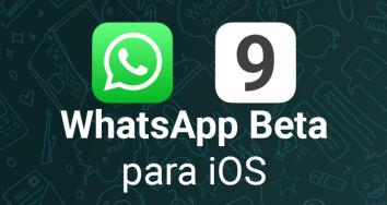 Llega WhatsApp Beta para iOS 9